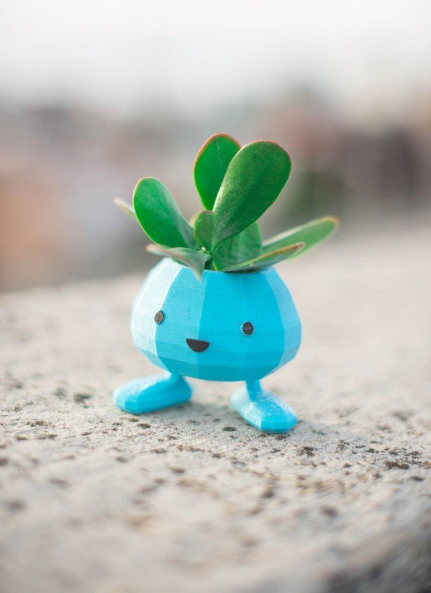 pokemon_oddish_planter_by_printaworldservice_2