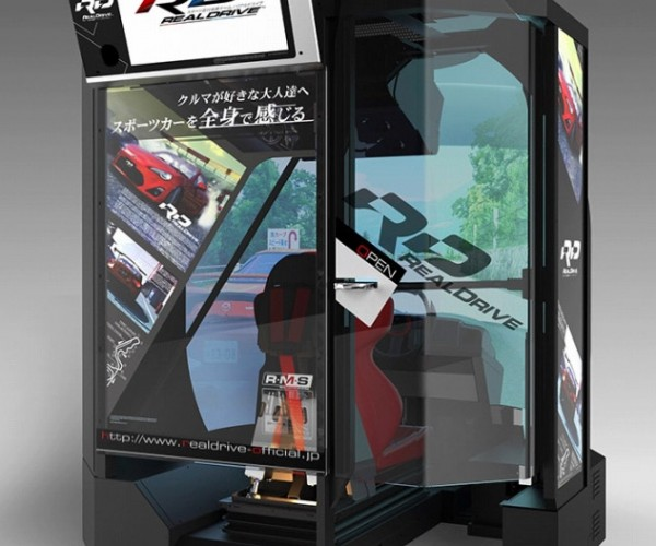 Japanese Arcades Get RealDrive Arcade Racing Game