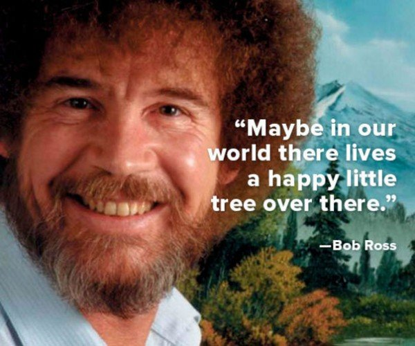 Bob Ross Live Stream on Twitch Is Your Daily Zen