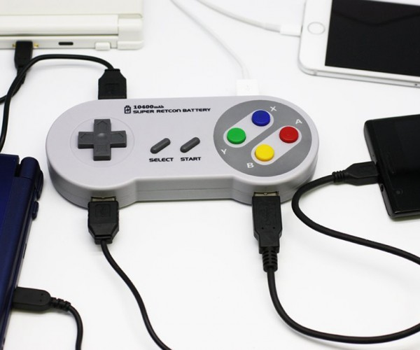 SNES Controller External Battery: Super Famicharge
