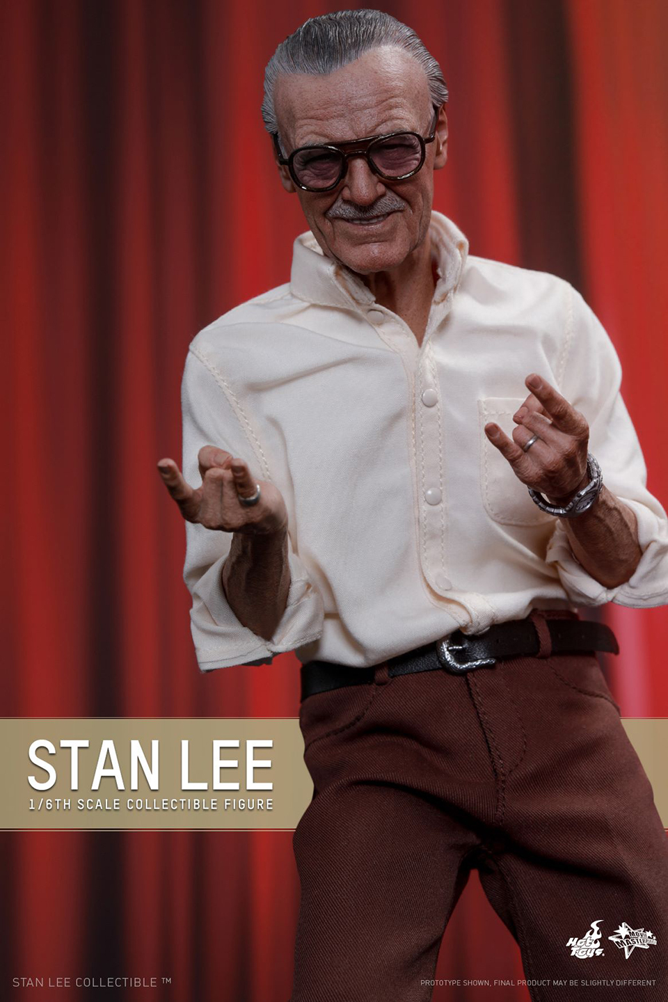 Hot Toys Stan Lee Sixth Scale Action Figure: Expensivor!