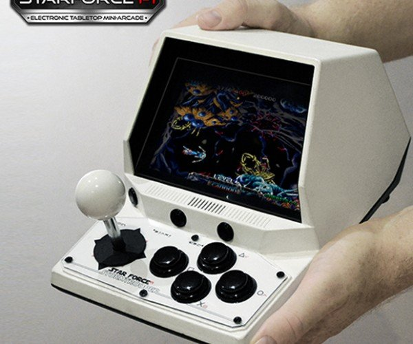 Portable Raspberry Pi Arcade Machine: Starforce Pi