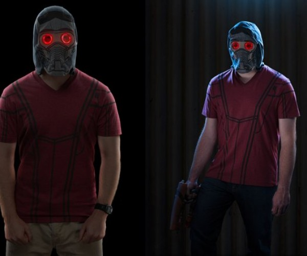 Star-Lord Hooded T-Shirt and LED Mask
