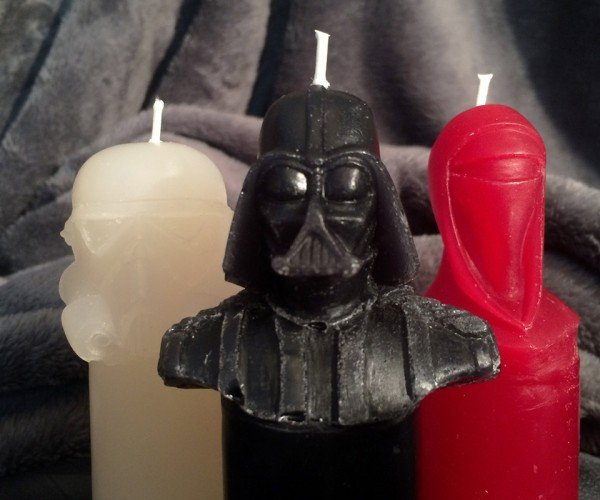 Star Wars Scented Candles: The Light Side of the Dark Side of the Force