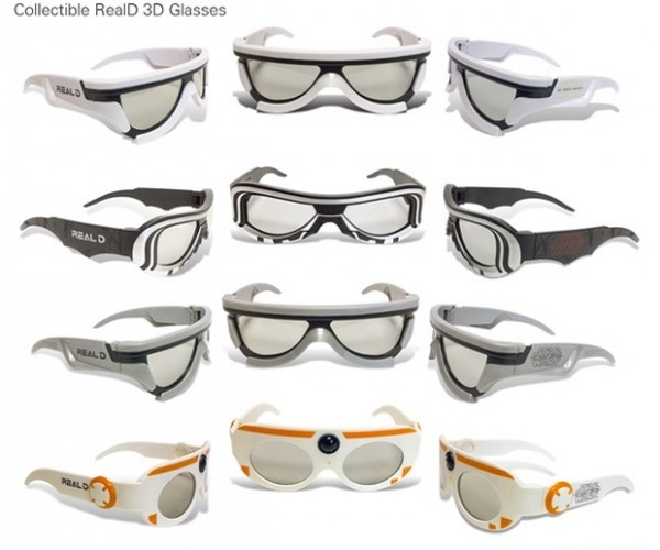 Star Wars: The Force Awakens 3D Glasses: The Merch Awakens
