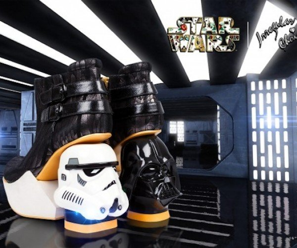 Vader and Stormtrooper Heels: Take a Walk on the Dark Side
