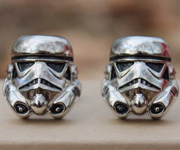 Stormtrooper Star Wars Cufflinks: Imperial Formal