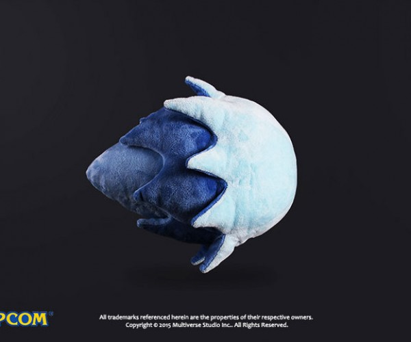 Street Fighter Hadoken Plush: Fluffball