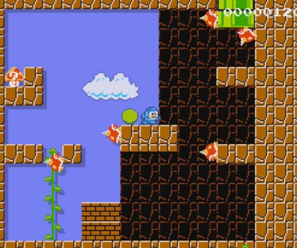 Fan Absorbs Capcom's Powers, Remakes Mega Man in Super Mario Maker