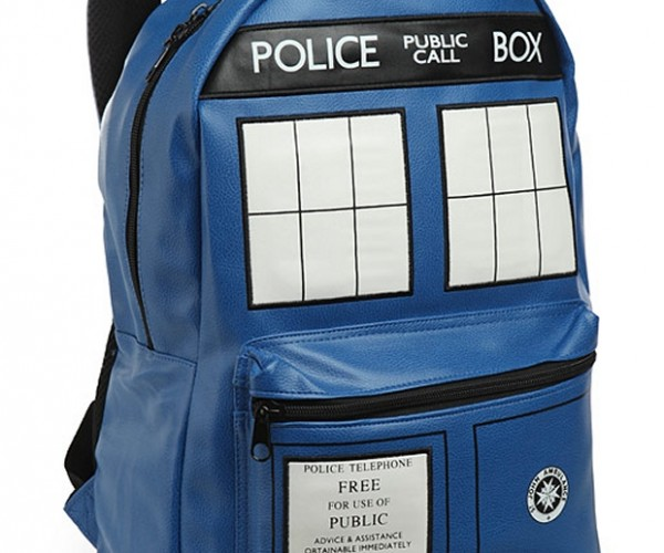 Doctor Who TARDIS Backpack: Time and Space on Your Back
