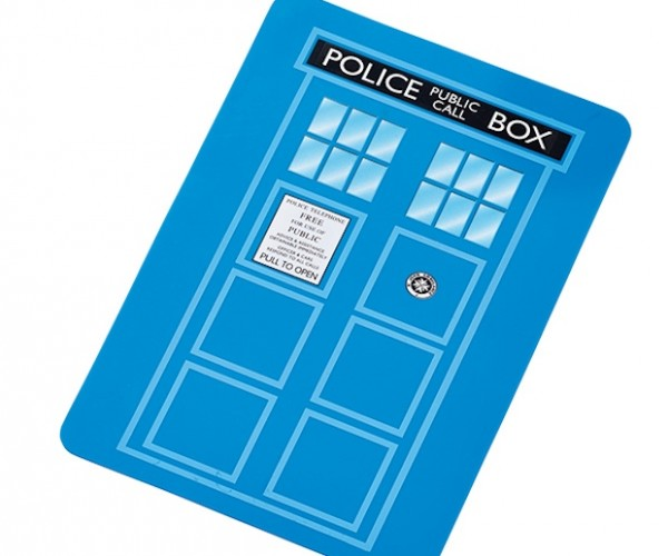 Doctor Who TARDIS Cutting Board: Chop Some Thyme and Spice