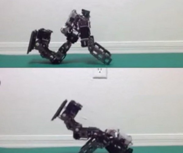 Researchers Teach Robots to Fall without Breaking