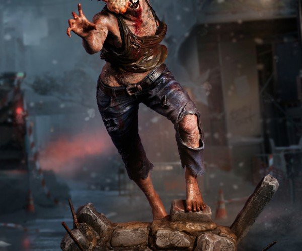 The Last of Us Clicker 1/4 Scale Statue Will Make Your Other Toys Shut up