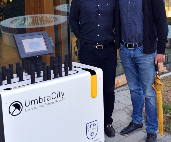 UmbraCity Umbrella Sharing Service Has You Covered