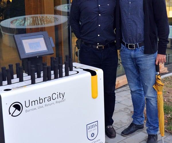 UmbraCity Umbrella Sharing Service Has You Covered