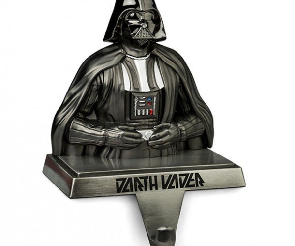 Darth Vader Stocking Holder Finds Your Lack of Oranges Disturbing