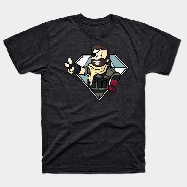 Metal Gear Solid V & Fallout T-Shirt: Vault Boss