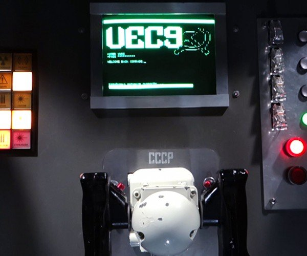 VEC9 Vector Arcade Cabinet: Vec to the Past