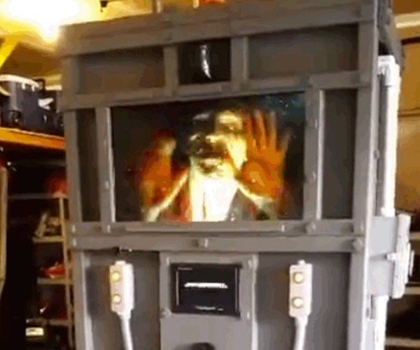 This Zombie Containment Unit Is the Best Halloween Prop Ever