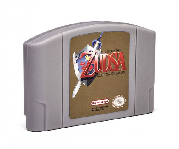 The Legend of Zudsa Ocarina of Grime Soap: Take This.