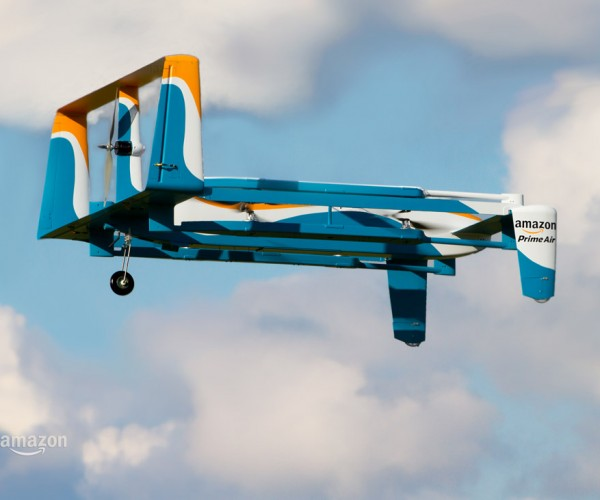 Jeremy Clarkson Explains the Amazon Prime Air Drone Delivery Service