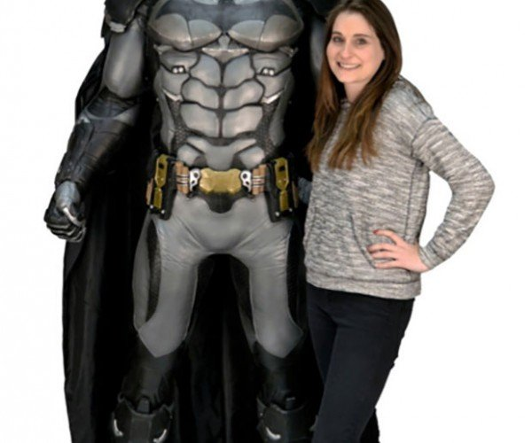 Foam Batman Replica is 6'2″ Tall: Holy Collectibles