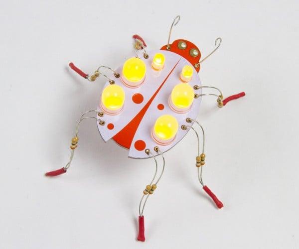 Boldport Buggy DIY Toy: LEDybug