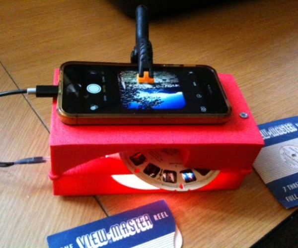 DIY View-Master Image Digitizer: Archive-Master