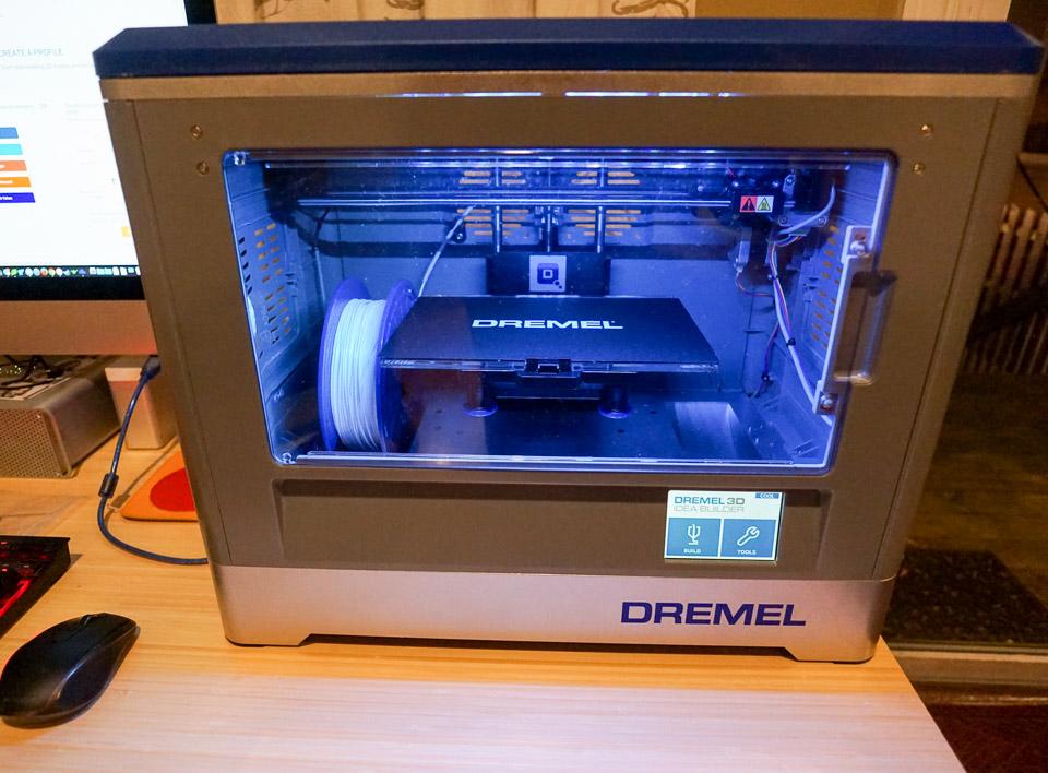 review dremel idea builder 3d printer. Black Bedroom Furniture Sets. Home Design Ideas