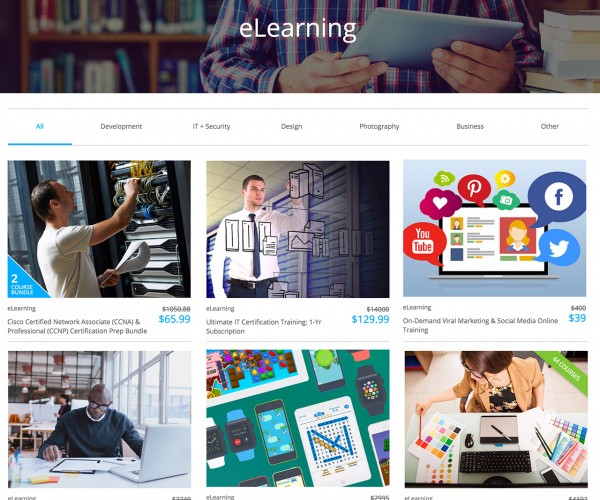 Deal: 25% off All eLearning w/Promo Code: CYBERMONDAY25