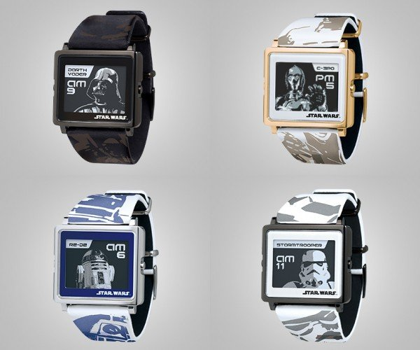 Epson Star Wars Smart Canvas Watch: The E-ink Strikes Back