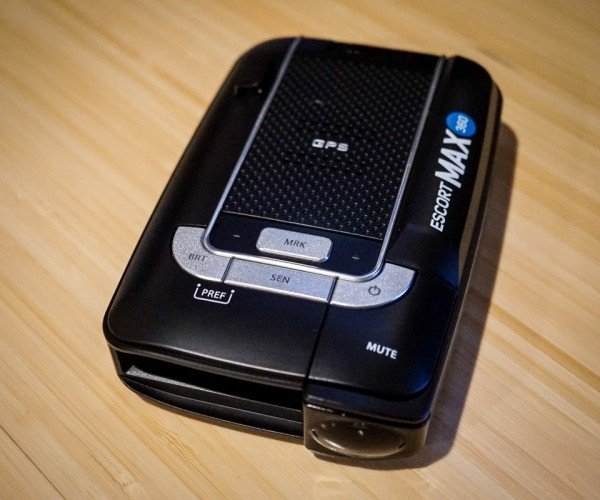 ESCORT Max 360 Radar Detector ups the Ante in All Directions