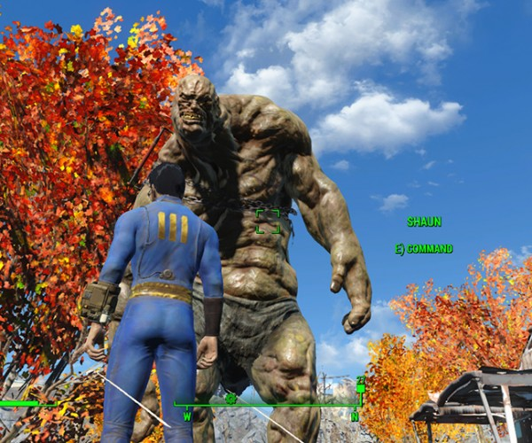 Fallout 4 Mod Lets You Get an Extra Companion… as Long as It's Named Shaun