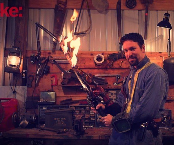 DIY Fallout 4 Shishkebab: You'll Scorch Your Eye Out, Kid