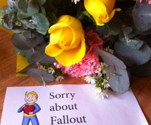 The Fallout 4 Floral Bouquet