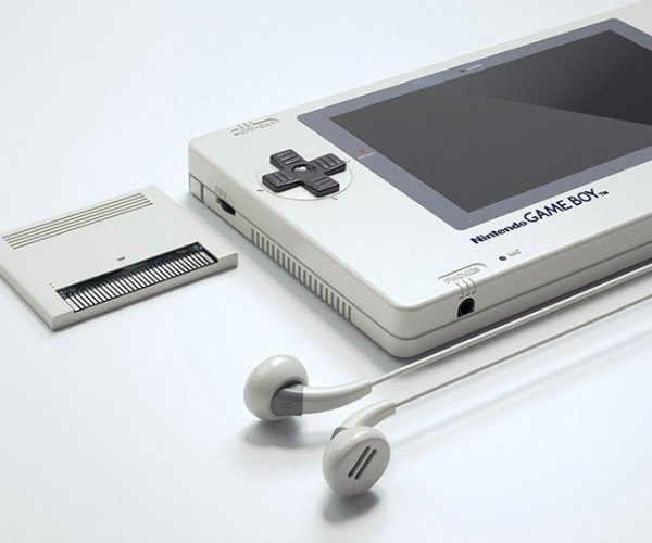 Beautiful Big Screen Game Boy Concept: Game Boy XL