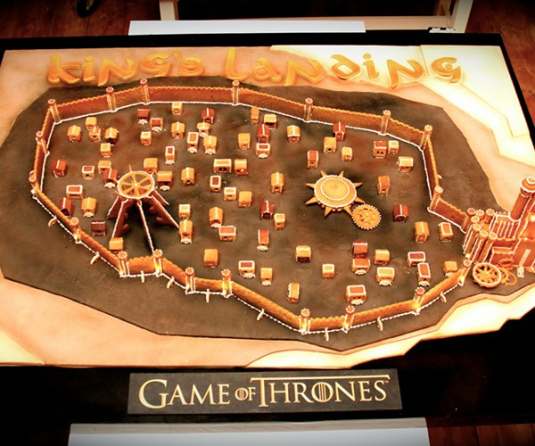 Gingerbread King's Landing Rises in London
