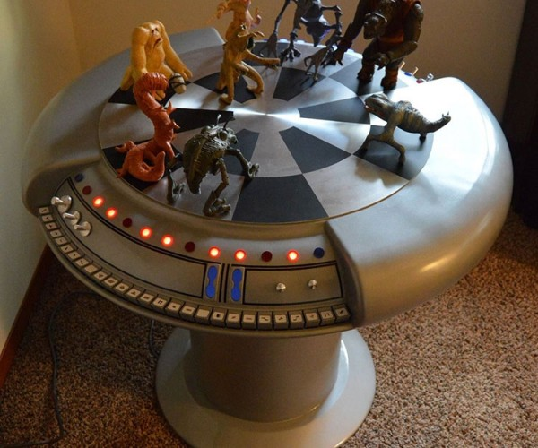 Geek Builds Star Wars Holochess Table, Won't Play Wookiees