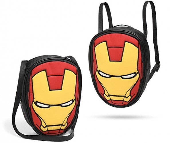 Marvel Iron Man Convertible Backpack