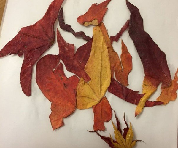 Japanese Artist Makes Pokémon Characters from Leaves: Leafymon