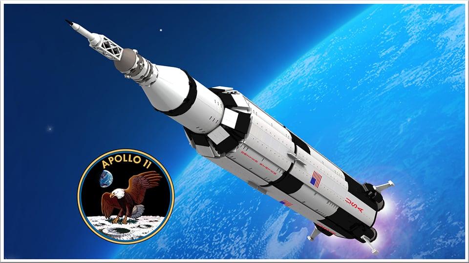 LEGO Apollo 11 Saturn V Rocket Concept: the Eagle Has ...