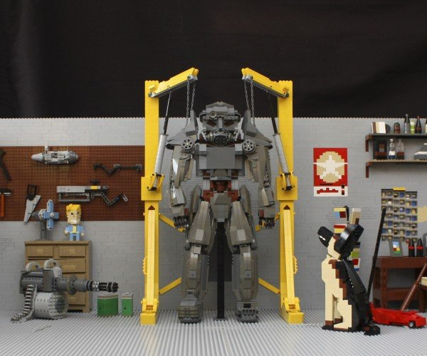 Fallout 4 LEGO Garage Is Insanely Detailed