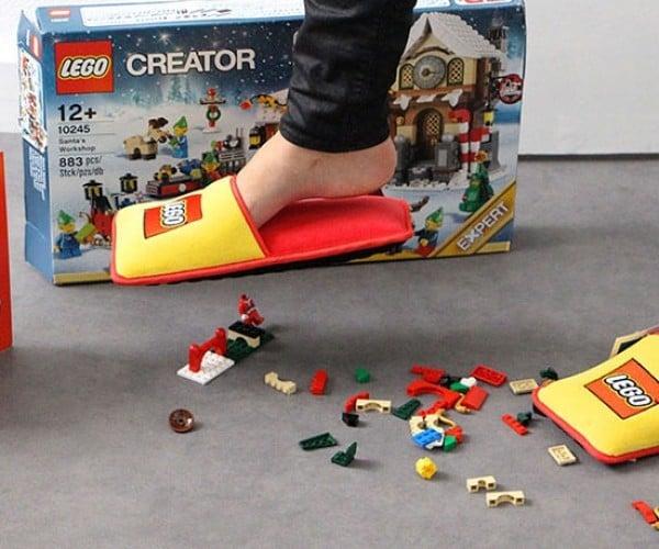 LEGO Creates Anti-LEGO Slippers
