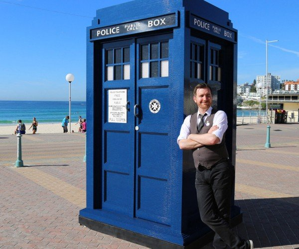 This Giant LEGO TARDIS Is Brickier on the Inside