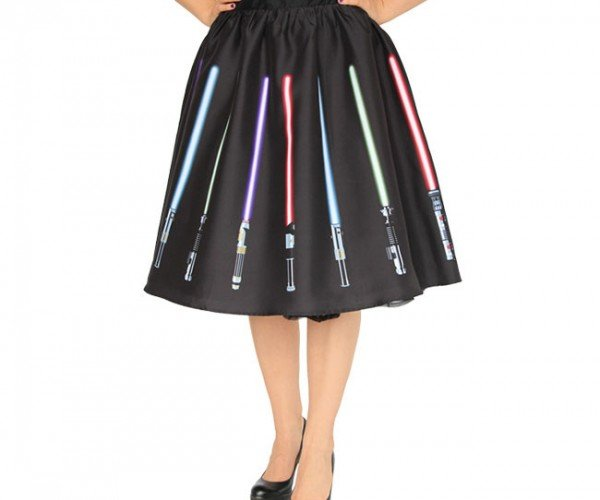Lightsaber Skirt: An Elegant Dress for a More Civilized Age