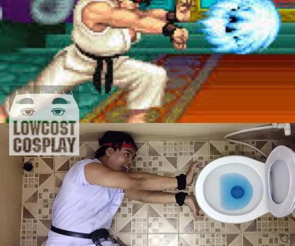 Hadouken Toilet: Cosplay at its Weirdest