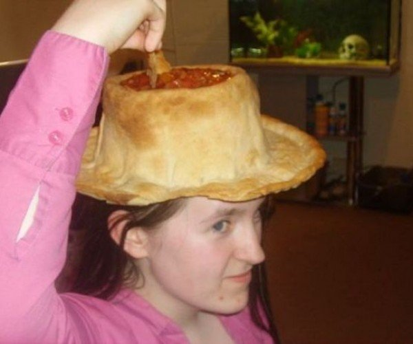 Edible Nacho Hat: I Want to be a Nacho Man!