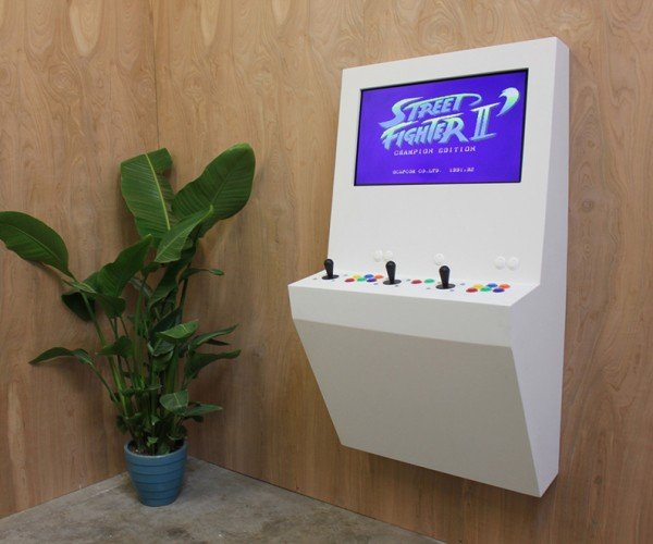 Polycade Wall-mounted Arcade Machine: Worth a Thousand Games