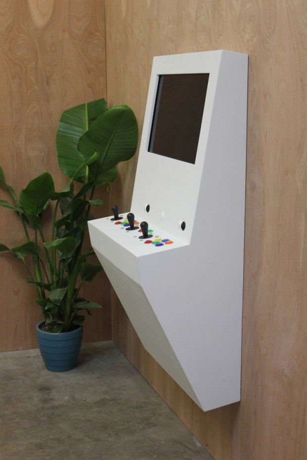 Polycade Wall Mounted Arcade Machine Worth A Thousand