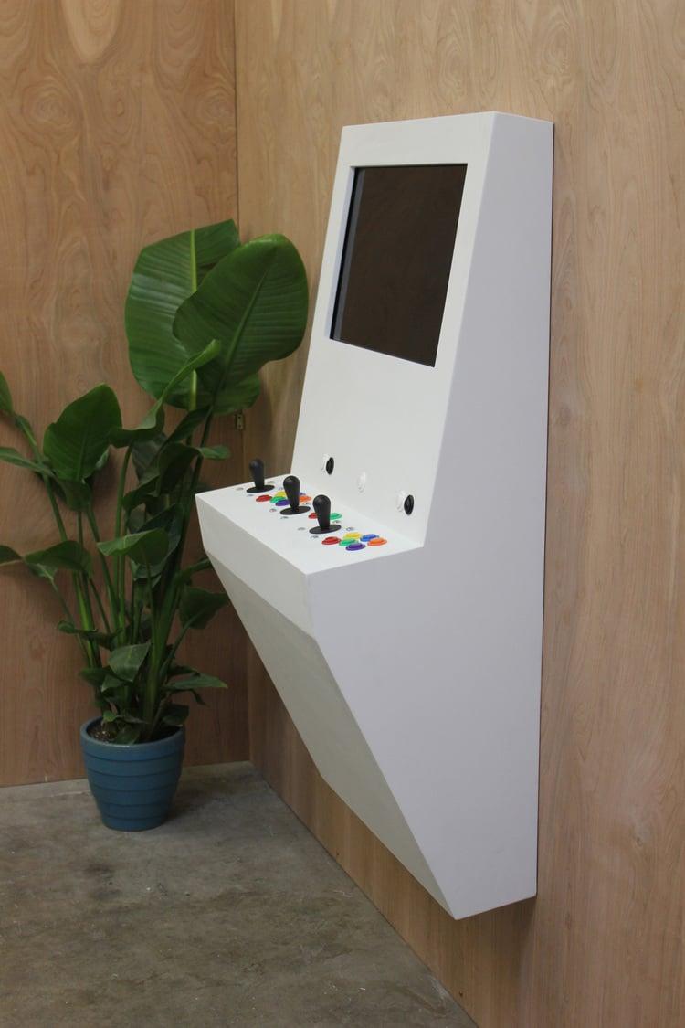 Polycade Wall Mounted Arcade Machine Worth A Thousand Games